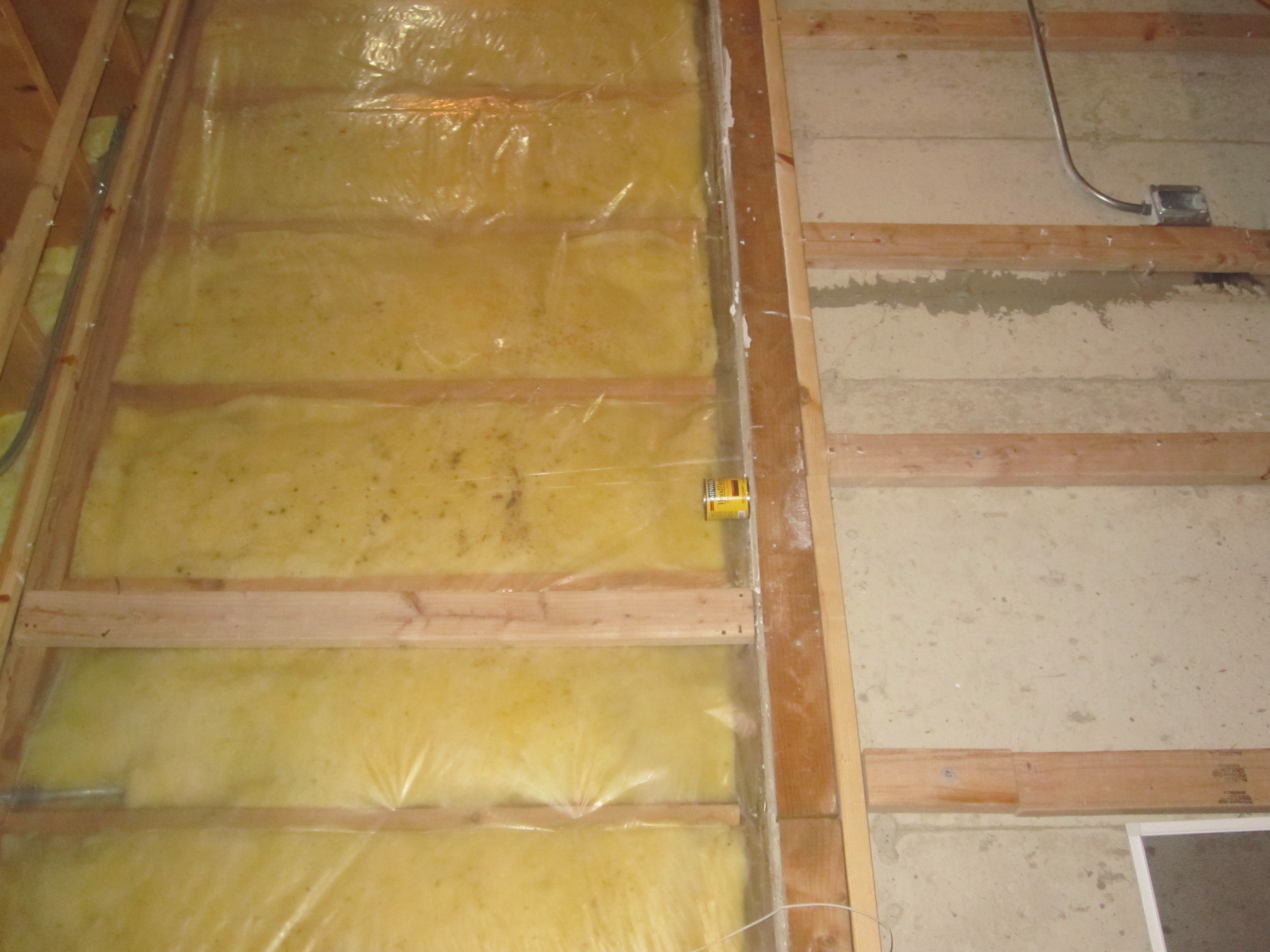 Basement With Half Wall--insulation Questions